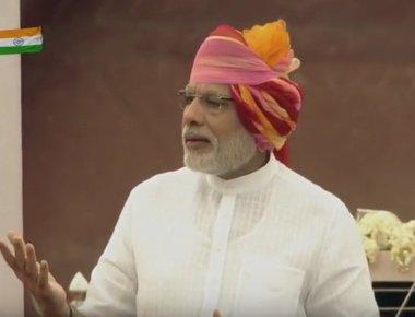 PM urges people to transform 'swaraj' into 'suraaj'
