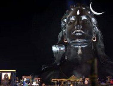 Modi unveils 112 ft Shiva bust, extols Yoga