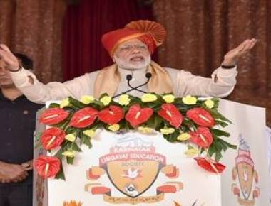 Modi takes dig at Congress' claim on Gujarat win, refers to Cyclone 'Ockhi' that did not come