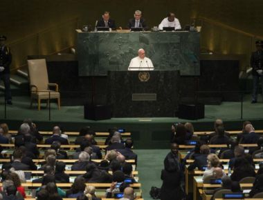 How the Pope used the environment to preach to the UN