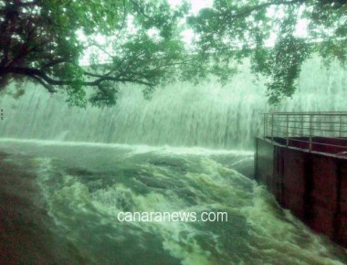 Rain, high tide cause water-logging