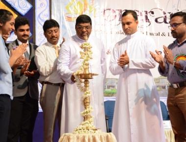 Inter collegiate cultural, literary competition 'Prerana' at FMHMCH