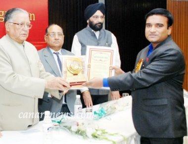 Claretian Priest bags Rashtriya Gaurav Award 2018