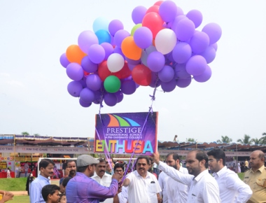 Prestige International School & College wins smiles through Enthu Charity Drive