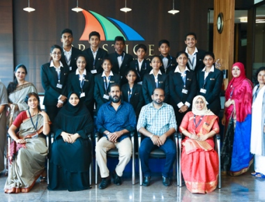 Prestige International School team leaves to Malaysia for student exchange programme