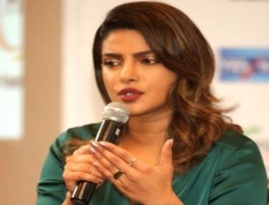 Priyanka Chopra welcomes Unicef chief in India
