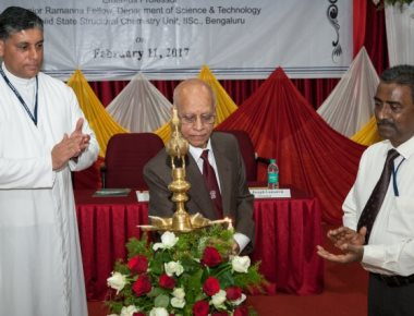 Prof KJ Rao delivers sixth Foundation Day Lecture at SJEC