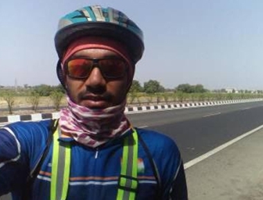 Okha-Dibrugarh solo ride MIT's Prof. Shameem does it in 2 weeks