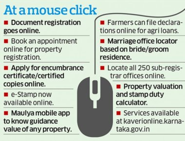 Register property papers online
