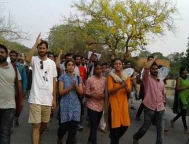 Protests in Tamil Nadu over suicide of student
