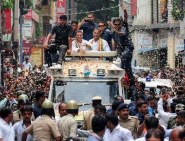 Rahul wraps up Bengaluru canvassing on a high note