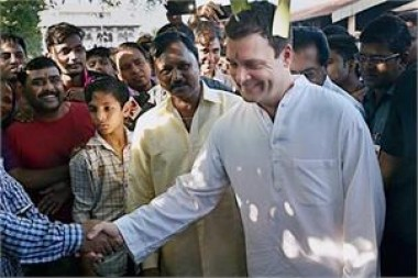 Rahul holds padyatra in Raj in build-up to Monsoon session