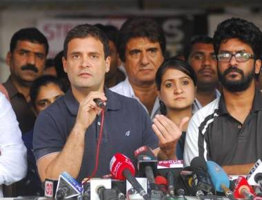 Don't impose will on FTII students, Rahul Gandhi tells Centre