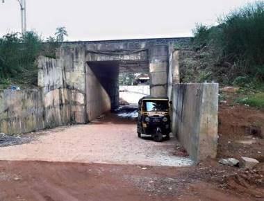 Railway underbridge may not be operational for now