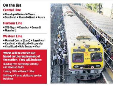 19 suburban railway stations set to get a makeover