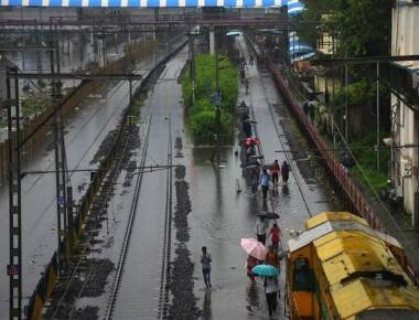 As rainwater recedes, rly. begins repairs