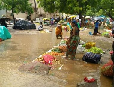 Rain throws life out of gear in N-K dists