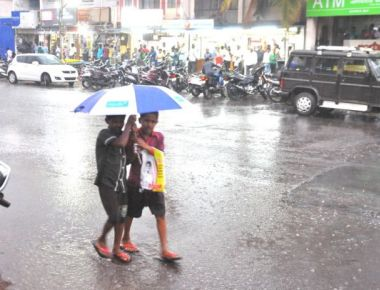 Showers bring respite from sweltering heat