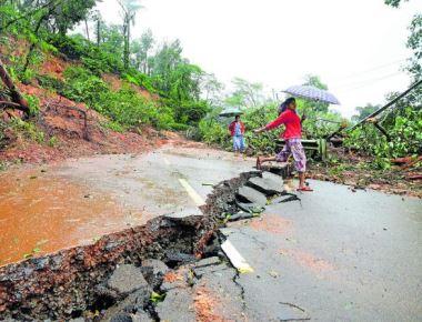 Rain in Kodagu eases; focus on rehabilitation