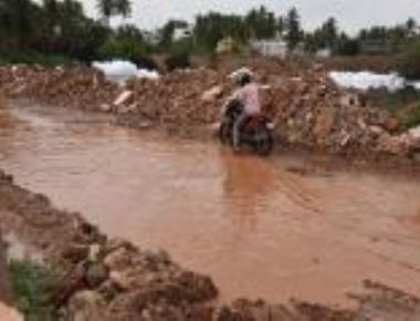 Widespread rains in N-K damage crops