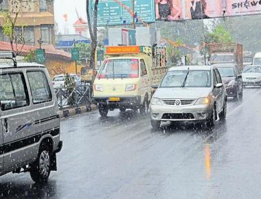 Heavy rain in different parts of state