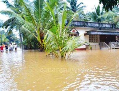 Heavy rain continues in DK and Udupi district