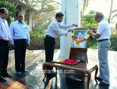 Mumbai Raj Bhavan staff pays rich tributes to Smt Radha Sankaranarayanan