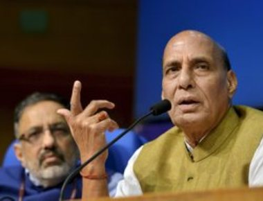 Centre to hold sustained dialogue on Kashmir issue: Rajnath
