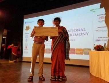 Rakshan Kundapur of Gurukula Public School secures first rank in Science Olympiad