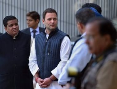 Rahul takes over as Congress chief, attacks Modi for indulging in 'medieval' politics