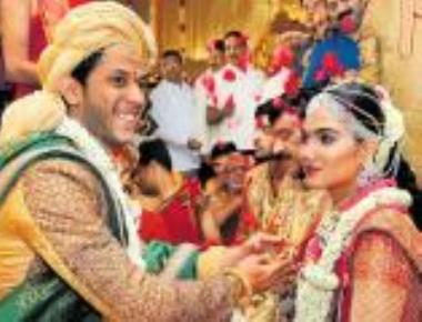 Reddy's daughter enters wedlock