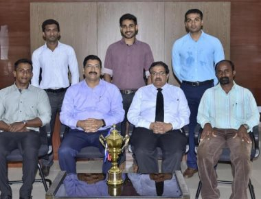 AJIMSRC team bags overall championship in RGUHS sports event
