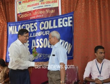 The inauguration of Science Association held at Milagres College, Kallianpur