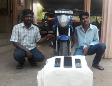 Two held for thefts by Barke police