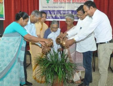 Movement Building workshop held at Roshni Nilaya College