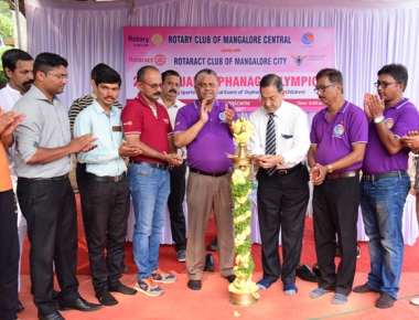 20th annual rotary orphanage Olympics held