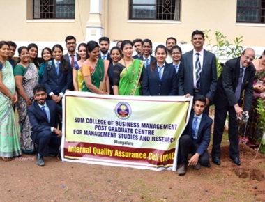 Office bearers of Rotaract Club of SDM PG Centre installed