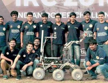 MIT Mars Rover team wins Indian Rover Challenge