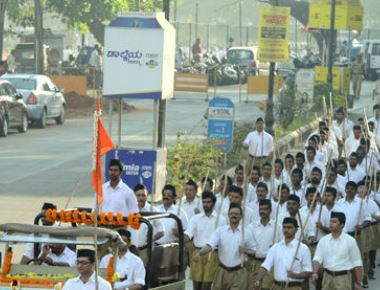 RSS takes out annual Route March