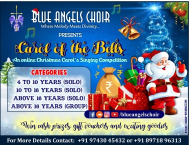 Blue Angels Choir to host Carol of the Bells