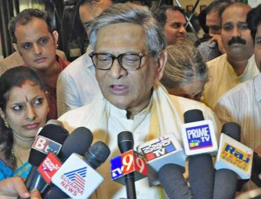 Recent developments in State worrisome, says S.M. Krishna