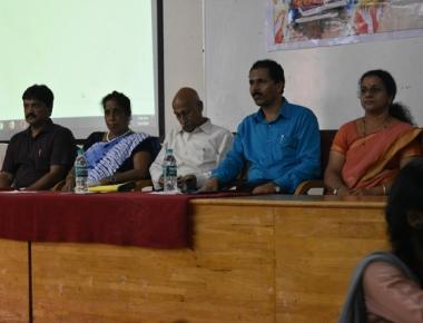 SAC's Hindi dept holds 'Bhasha Sangham'