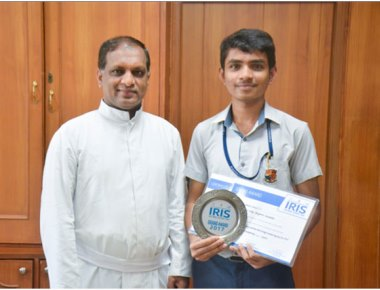 SAC PU student bags award at National Science Fair