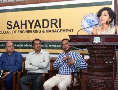 Apprenticeship fair held at Sahyadri College of Engineering & Management