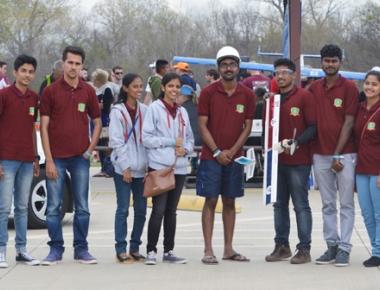 Sahyadri Team Challengers positioned sixth at SAE International Aero Design West