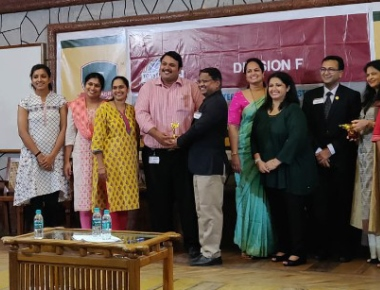 Division F Toastmasters Leadership Institute held at Sahyadri College