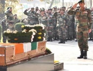 Last salute to Colonel Mahadik who died battling terrorists