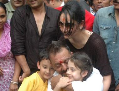 Sanjay Dutt at Home Bandra West,