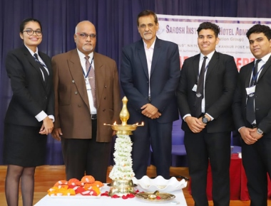 Sarosh Institute of Hotel Administration inducts student council office bearers