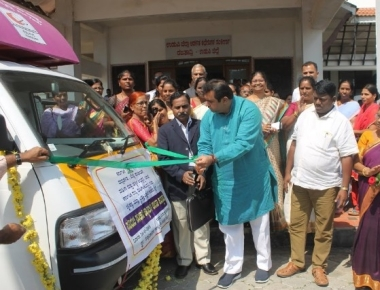 Saviruchi Sanchari Canteen launched in Udupi